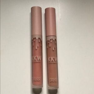 Kylie Cosmetics X KKW Lip Creme Duo